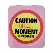 Blonde Moment Mints Gift Tin